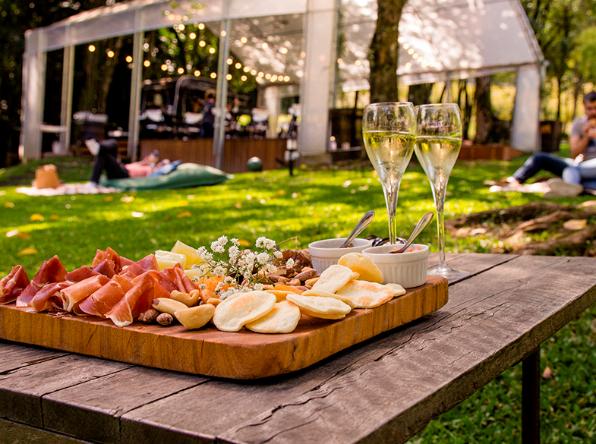 Lounge Vinícola Geisse Food Safari Vale dos Vinhedos