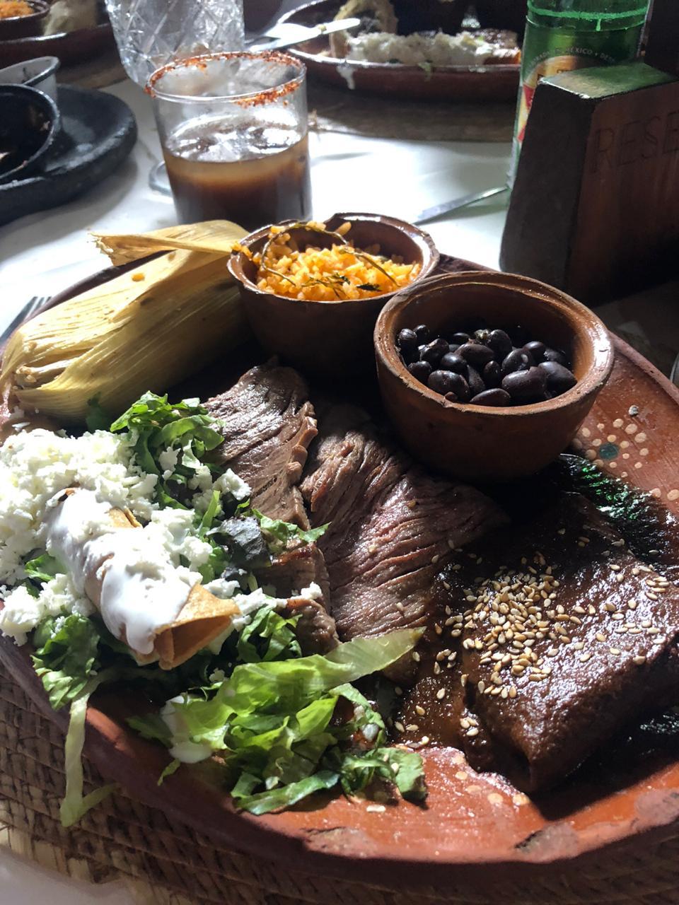 Platón Mexicano Food Safari Mexico