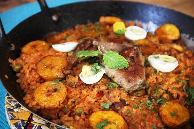 Arroz de Quenga Rica Cozinha Brasileira restaurante Divina Gula em Maceió Alagoas